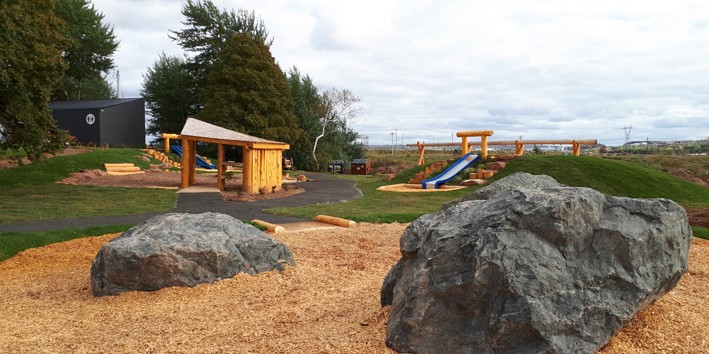 Fundy Discovery Site Natural Playground