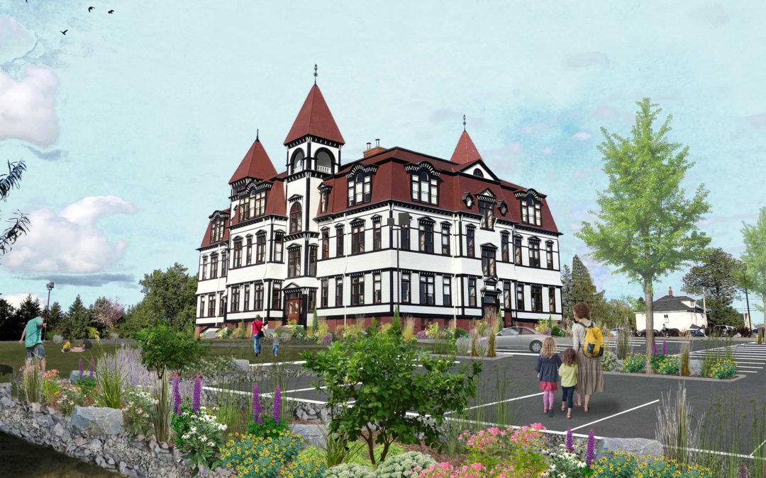 Lunenburg Academy Site Design