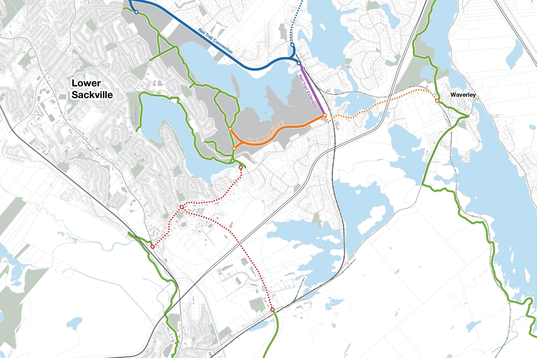 Sackville Lakes Provincial Park, Trail Planning